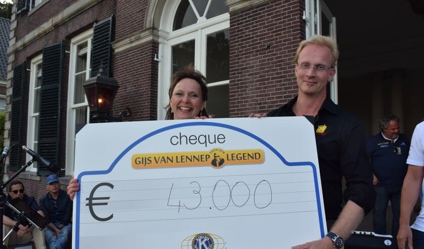 De Gijs van Lennep Legend heeft weer een recordbedrag opgebracht.