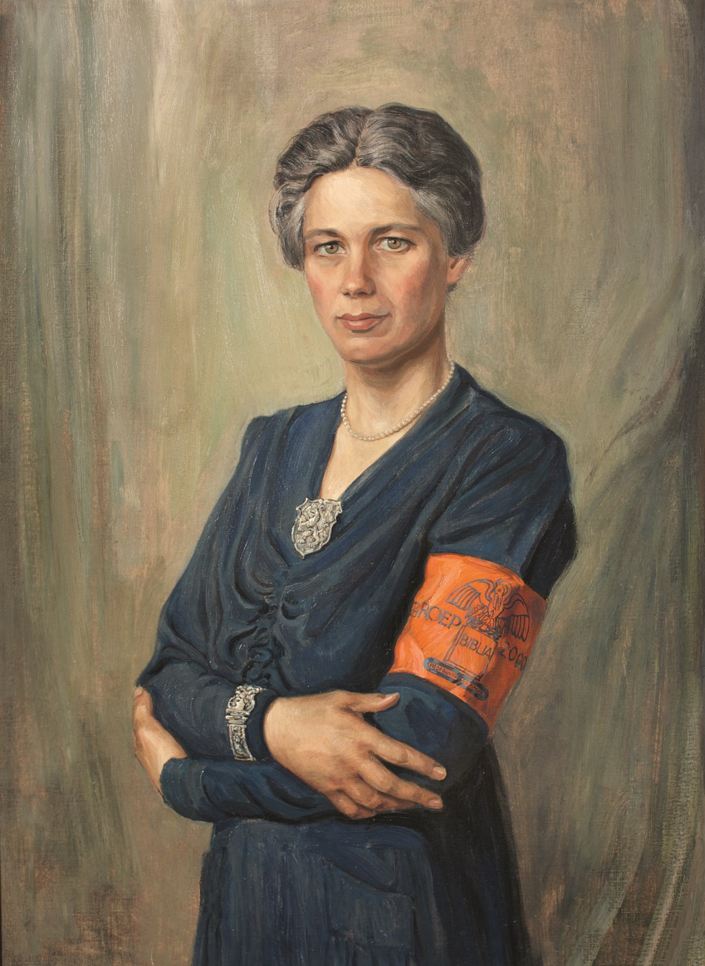 Julius van Hoffen: 'Jacoba van Tongeren was een sterke vrouw uit de Tweede Wereldoorlog die, met een onvoorstelbare moed en uithoudingsvermogen, een vitale rol speelde in het Amsterdamse verzet'.   © De Vierklank