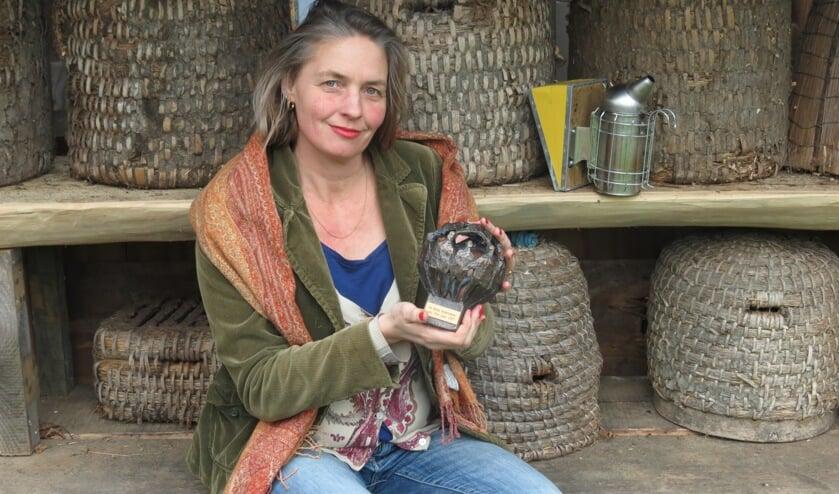 Sonne Copijn is verkozen tot de Duurzaamste Ondernemer van De Bilt.