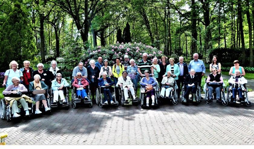 Voor alle gasten was (rolstoel-)vervoer geregeld