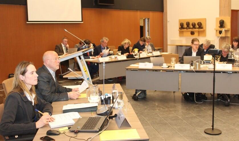 Frans Poot is voorzitter bij het agendapunt over gedragscodes.