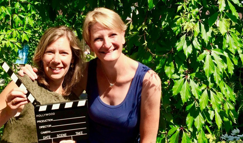 Petra Muns is trainer en adviseur Dramatherapeut en storyteller; Edith de Wit is auteur en storycoach. Dat wil zeggen dat ze mensen helpt om op verhaal te komen.