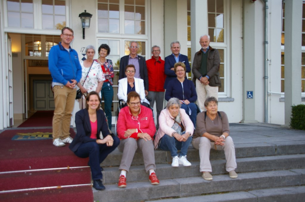 De middaggroep deelnemers met de werkgroepen Toegankelijkheid, onderdeel van de Adviesraad Sociaal Domein De Bilt.  © De Vierklank