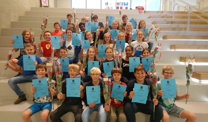 Alle kinderen van groep 8 hebben hun mediatordiploma ontvangen.
