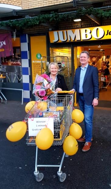 Dinsdag 11 december sjeesde Ina Ruznic door de winkel. Het totaal bedrag wat ze bij elkaar wist te winkelen was € 161,00.
