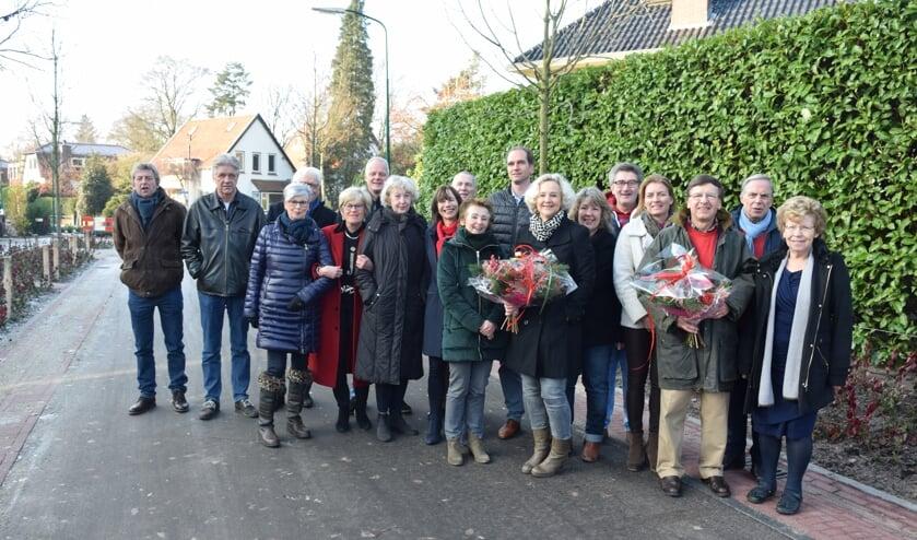 Na twee jaar is de Korte Boslaan in Bilthoven weer een mooie groene laan. [foto Walter Eijndhoven]