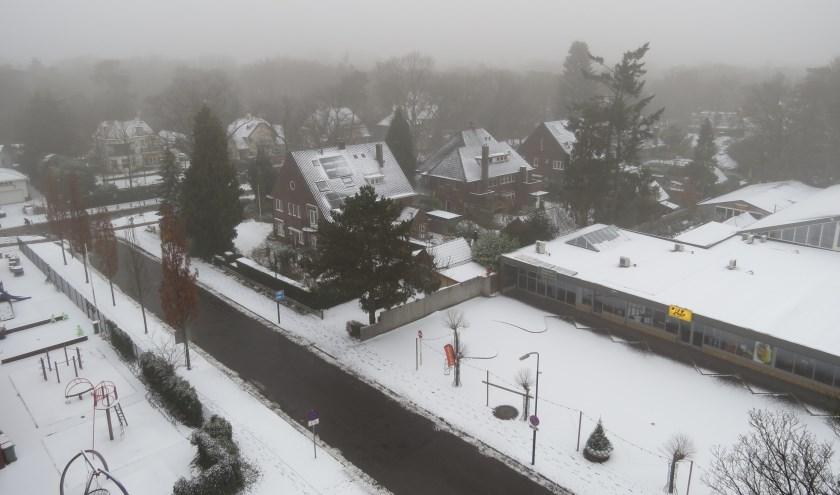 Op 16 december lag er een laagje sneeuw. Voorbode voor een witte Kerst?