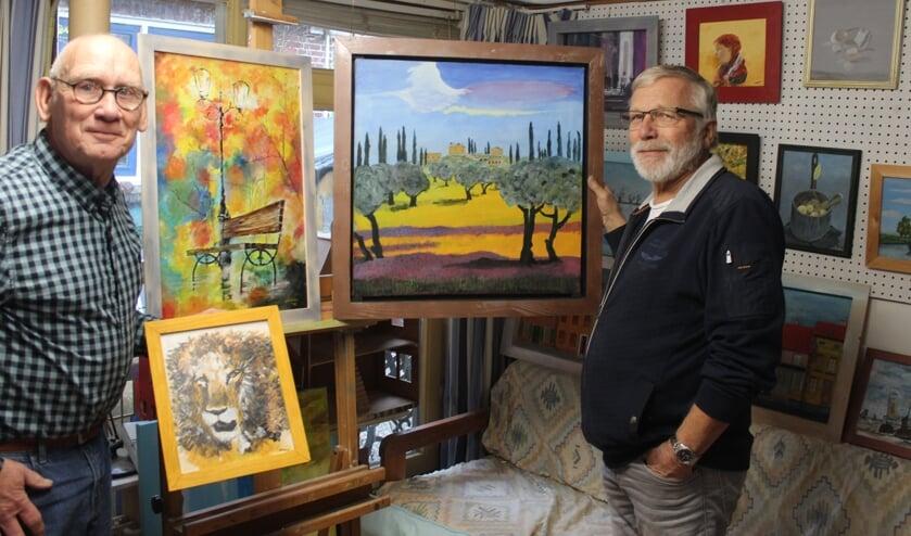 Marcel Jansen en Koos Koenen hebben gezamenlijke hobby's.