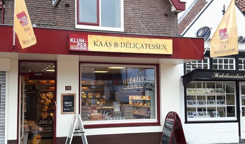 Bij Klumper Kaas ligt er een ruim assortiment op de plank.