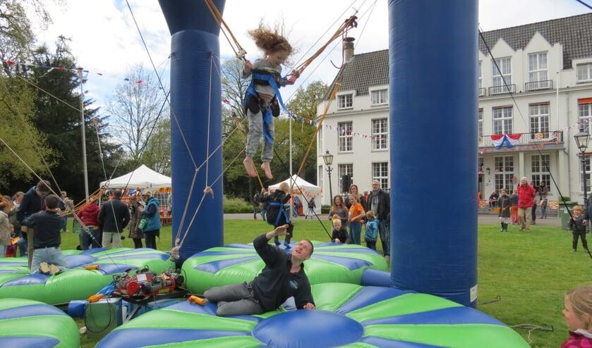 Aan het spellenfestival bij Jagtlust wordt altijd veel plezier beleefd.