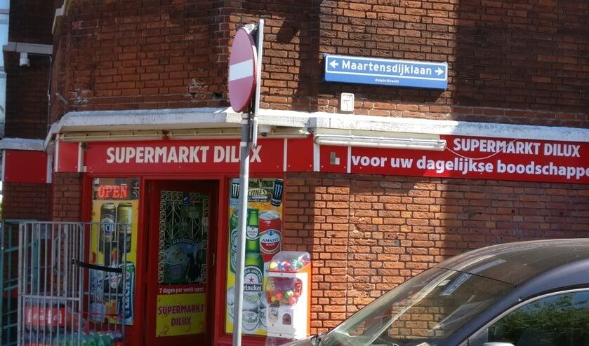 Supermarkt Dilux aan de Maartensdijklaan is 7 dagen in de week open.