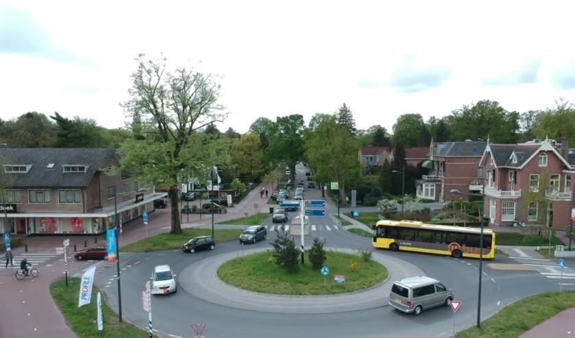 Verkeersregulatie op Soestdijkseweg.