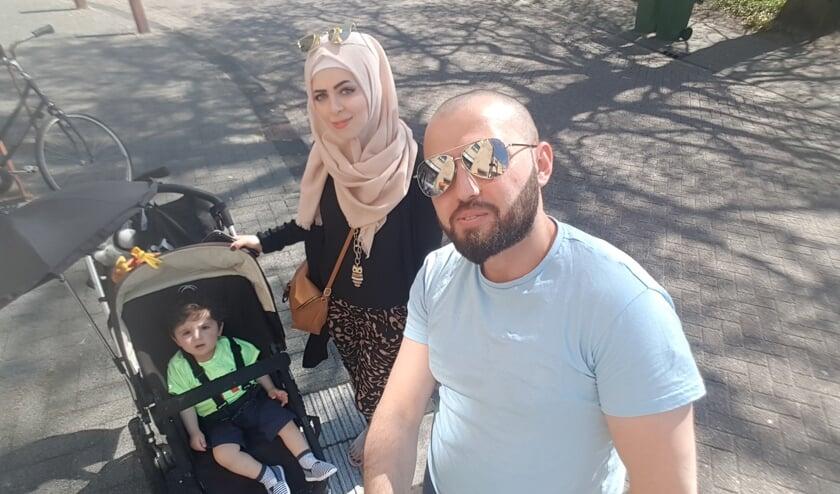 Omar Nabhan wil graag met zijn vrouw en zoon een nieuw bestaan opbouwen in Nederland.