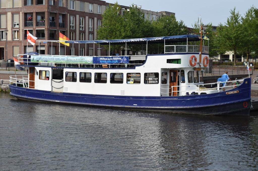 De boot in de haven van Amersfoort.  © De Vierklank
