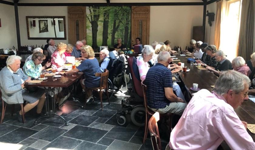 Ruim 40 personen bezoeken de inloopmiddag in Lage Vuursche.