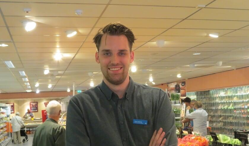 Filiaalmanager Daan Verburg wil de relatie met winkelend publiek versterken.