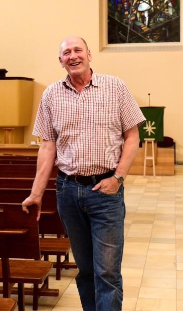 Appie van der Horst is koster en zalenbeheerder in de Opstandingskerk.