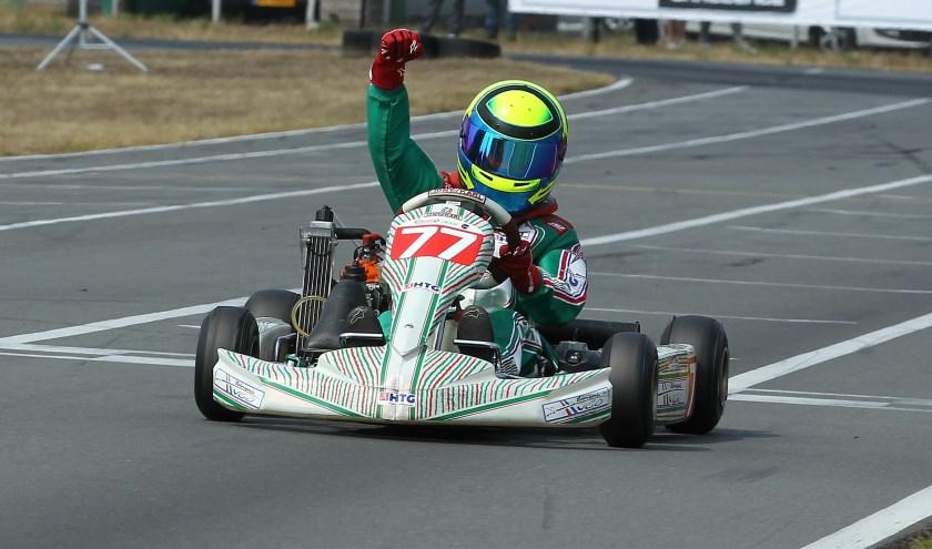 Bruno Mulders: 'Als je kunt wegrijden van de rest ben je de rest van de race veilig. Dat voelt heel goed'.