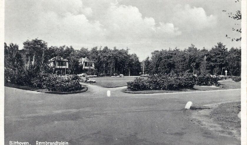 Rembrandtplein tussen 1925 en 1932