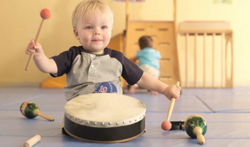Muziekplezier voor de allerjongsten bij KunstenHuis Muziekschool De Bilt-Zeist.