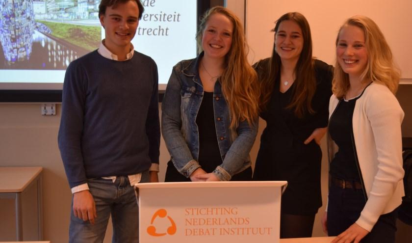 Hugo, Annelotte, Isa en Guusje eindigden uiteindelijk op de 16e plaats.