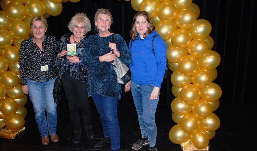 V.l.n.r. Anke van Doleweerd, Anneke Iseger, Marijke de Wilde en Cindy Donselaar.
