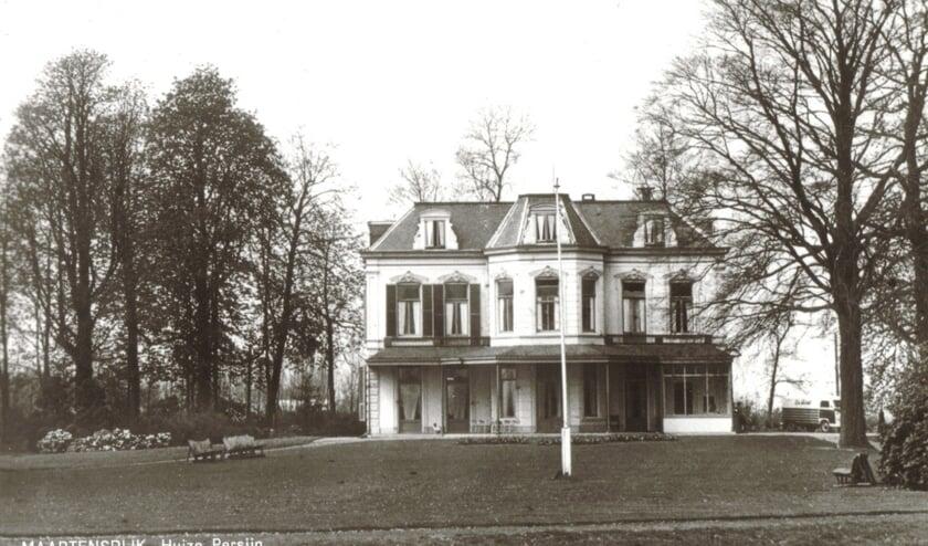 Het echtpaar Huydecoper - Steengracht van Oostcapelle woonde drie jaar op Persijn in de Achter Wetering. [foto uit de digitale verzameling van Rienk Miedema].