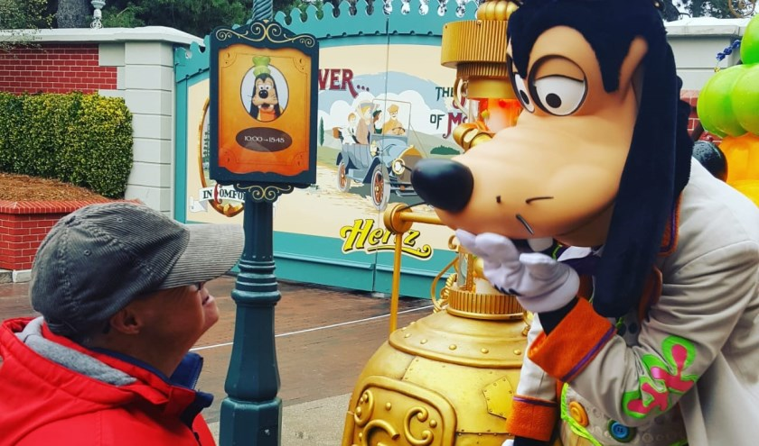 Ontmoeting in Disneyland Parijs.