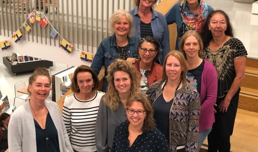 Leden van de werkgroep KidS en medewerkers van Kunst Centraal, Kunstenhuis en IDEA.