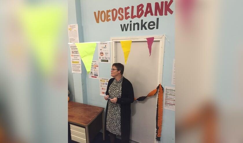 Anne Brommersma tijdens de openingsspeech.