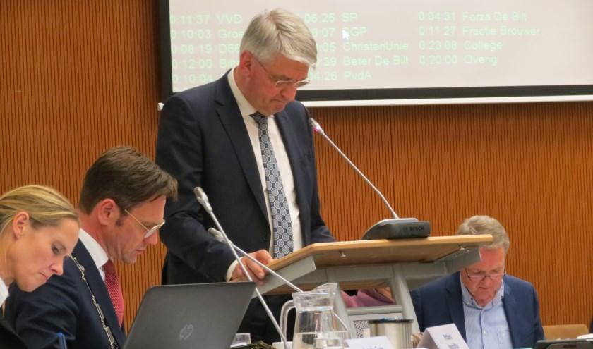 Johan Slootweg krijgt geen meerderheid voor zijn motie.