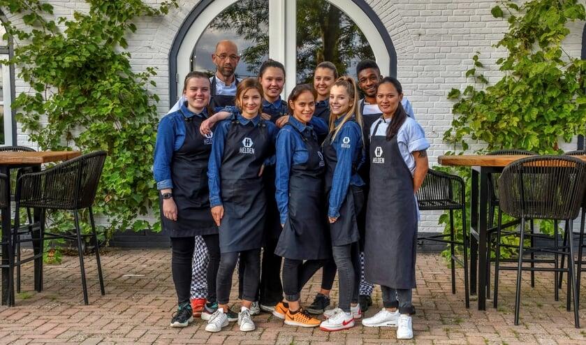 Officiële opening restaurant Helden