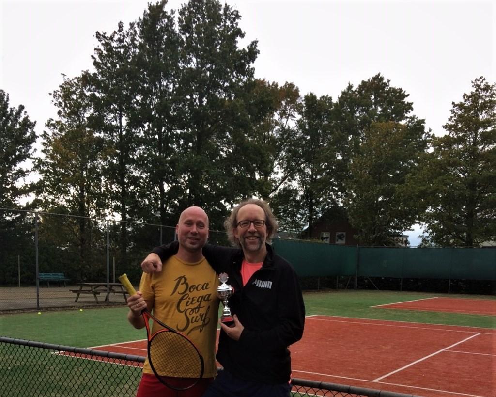 Winnaars bij de heren werden Peter van Dijk en Ard Lokmeijer. Beiden ook debutant als finalist, maar ijzersterk in de finale.   © De Vierklank