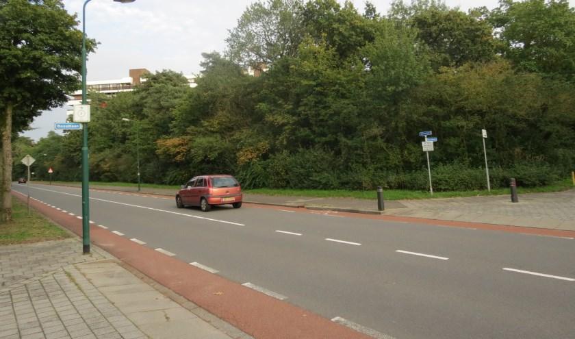 Een van de locaties waarop woningbouw mogelijk is ligt aan de Sperwerlaan in Bilthoven.
