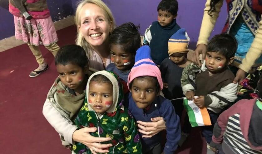 Zandzegge leden reisden naar India om het contact persoonlijker te maken en zagen de impact en betekenis van de gift.
