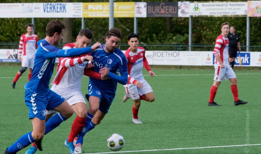 WV-HEDW gaf FC De Bilt weinig kansen voor een beter resultaat. (foto Willemsen)