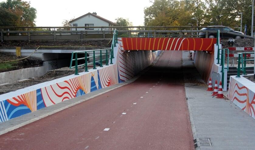 Van Halem heeft zich laten inspireren door het KNMI bij het ontwerp voor de tunnel. [foto Reyn Schuurman]