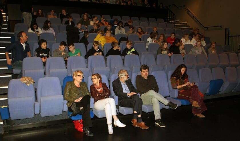 In afwachting van de presentatie in Het Lichtruim in Bilthoven. [foto Reyn Schuurman]