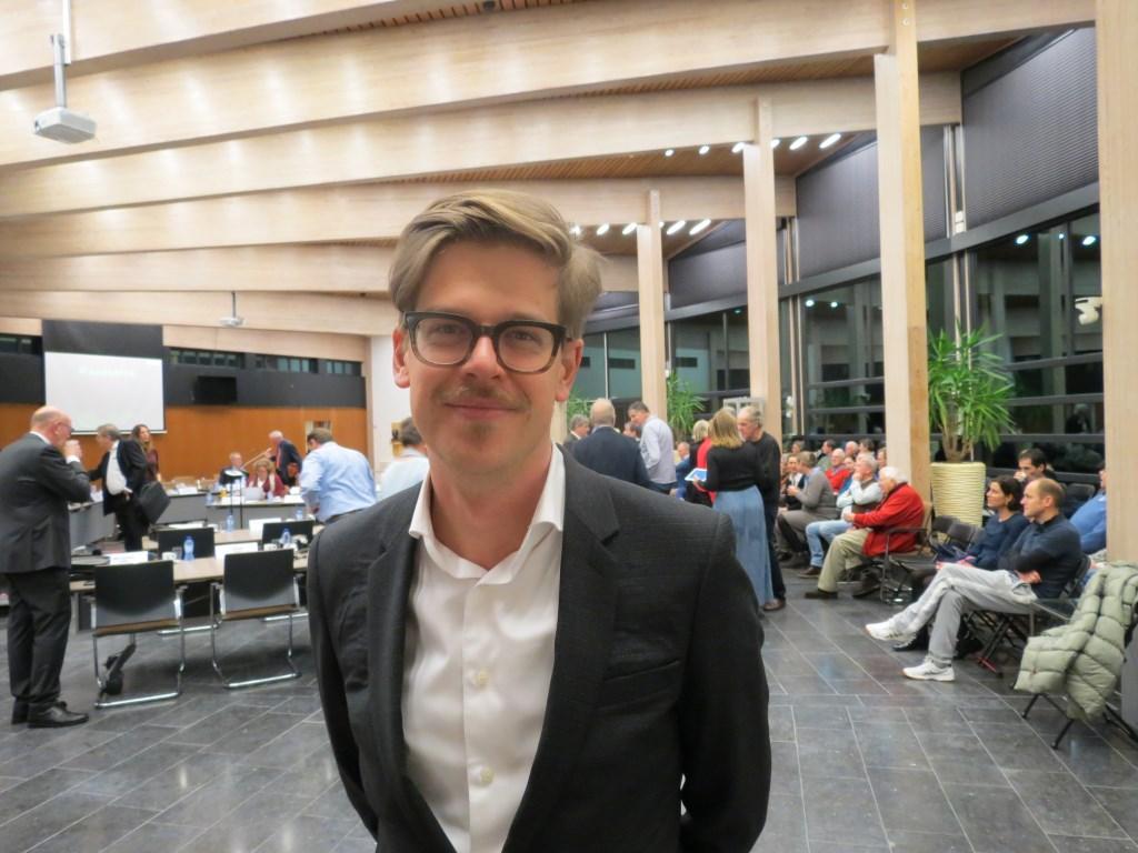 Wethouder Dolf Smolenaers: 'Een aantal zaken had beter gekund.'  © De Vierklank