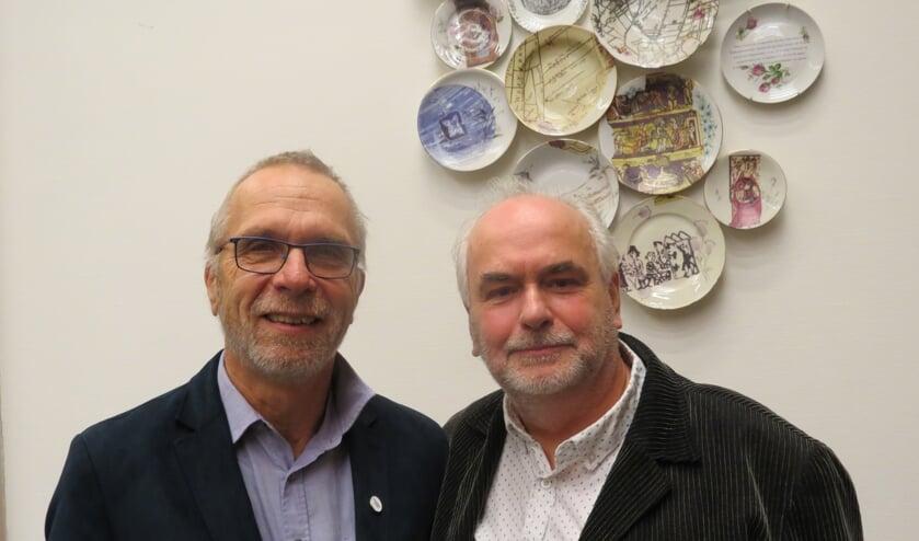Otto Oussoren (rechts) versterkt als commissielid de fractie van Theo Aalbers (ChristenUnie