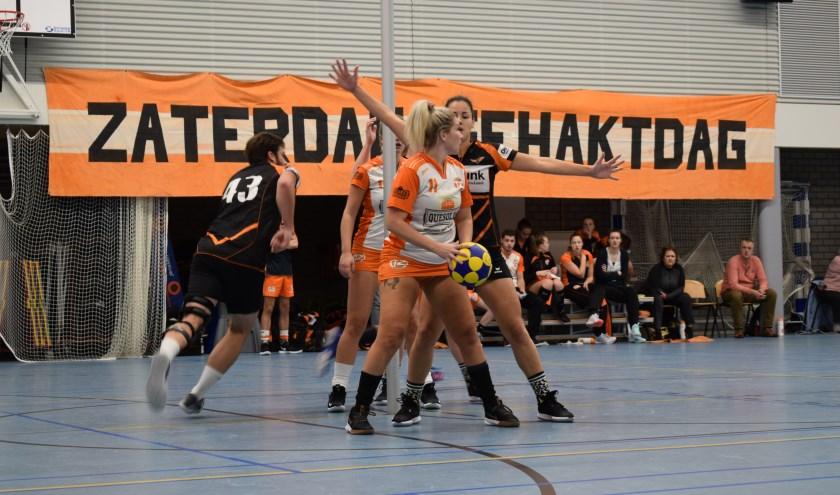 In de laatste wedstrijd van 2019 wint TZ niet van het Leidense Pernix. (foto Wilma de Heer