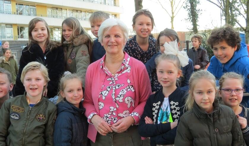 Juf Marieke de Kruijf zal de kinderen het meest gaan missen.
