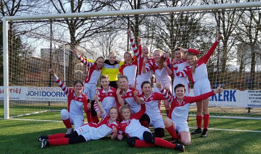 FC De Bilt MO13-1 bereikt kwartfinale