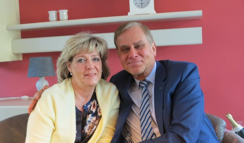 Han IJssennagger en zijn aanstaande bruid Rosalie Ebben.