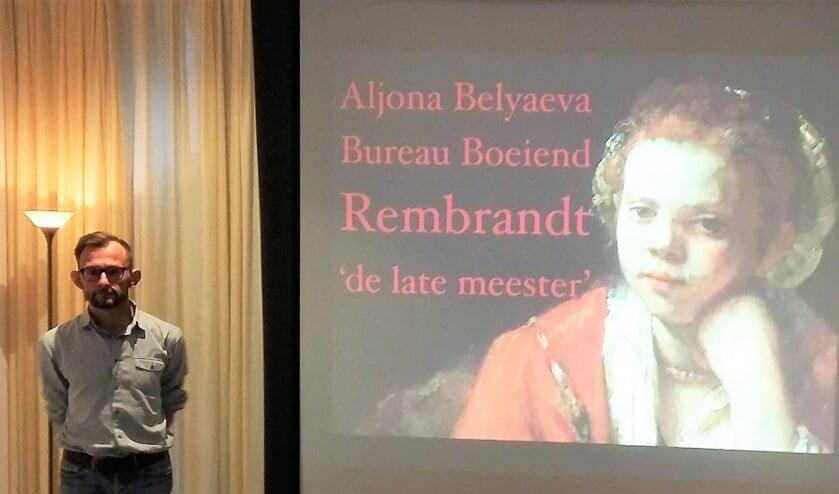 Kunsthistoricus Krzysztof Dobrowolski vertelt over Rembrandt.