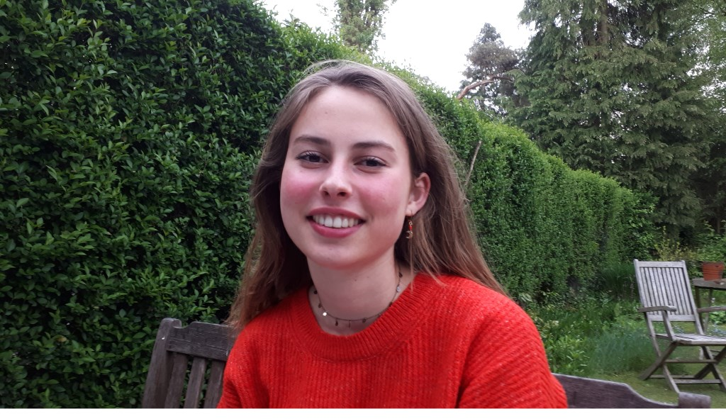 Luise von Behr is dolenthousiast om vrijwilligerswerk in Nepal te gaan doen.  © De Vierklank