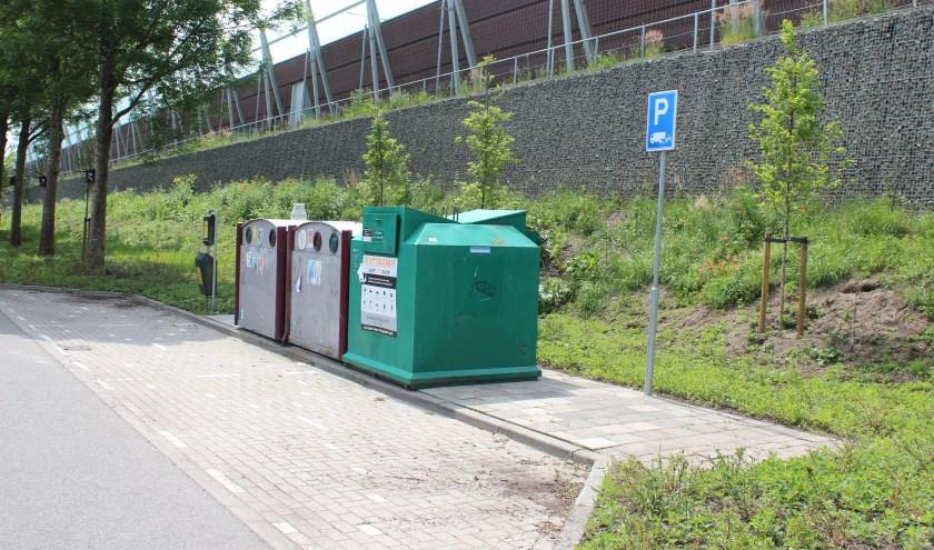 Containers in de Spoorlaan blijven bovengronds.