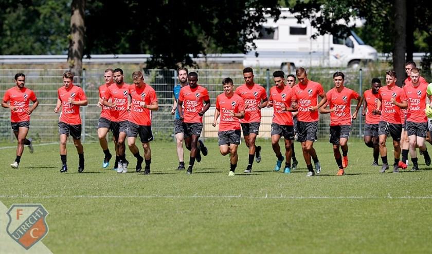 Jong FC Utrecht op bezoek