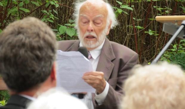 Richard van Staa houdt zijn verhaal.  © De Vierklank
