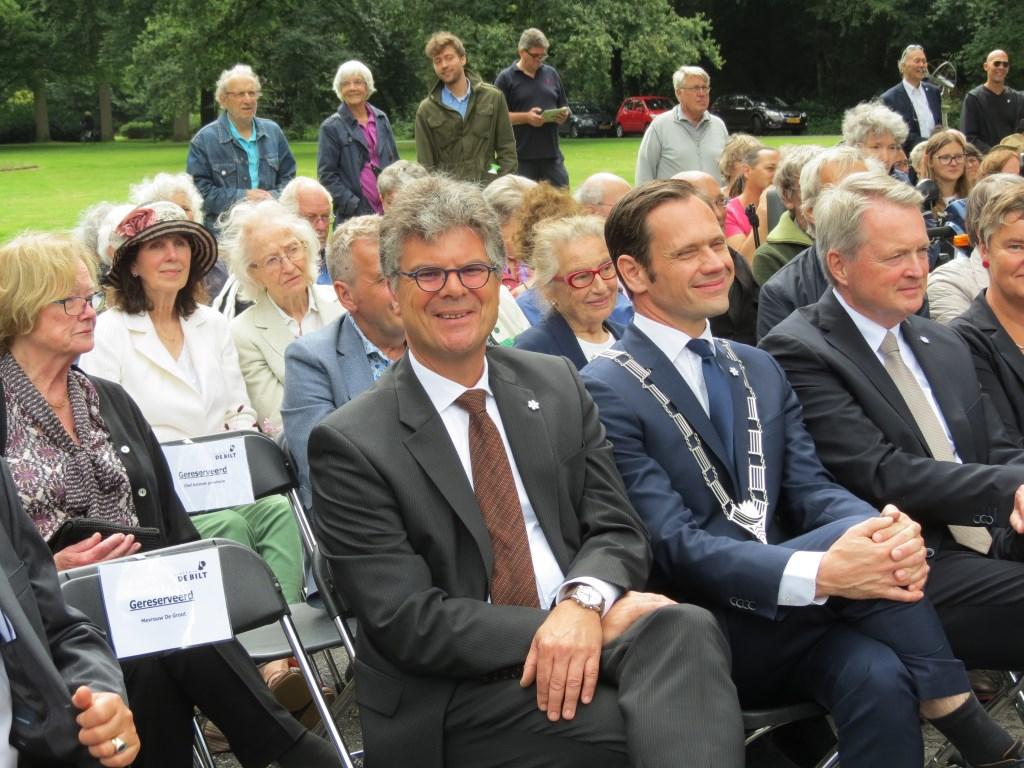 De Utrechtse commissaris van de Koning Hans Oosters.  © De Vierklank